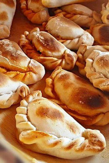 empanadas de choclo plato terminado