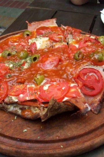 matambre a la pizzaiola